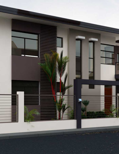 two storey apartment exterior design ideas New exterior and inte
